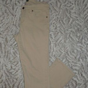 Modern Straight Beige Boys Jeans Pants